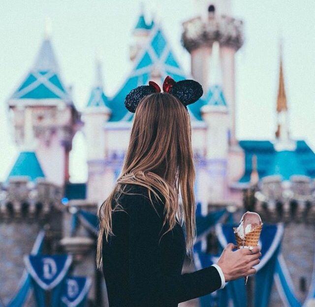 Disney Mickey Mouse ears castle Disneyland