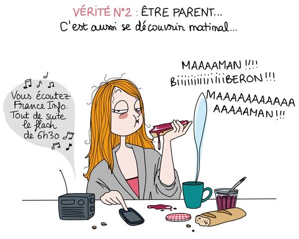 ETRE PARENTS - vérité n°2 www.astridm.com/