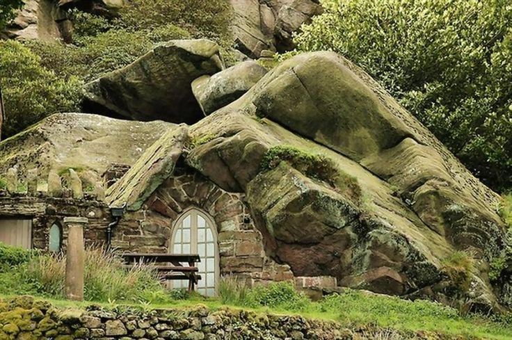 (5)Stones Cottages, England, Real Life, The Rocks, Nature Stones, Rocks Cottages, Places, Hobbit House, Mountain House
