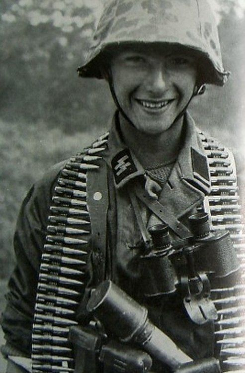 Young SS soldier.