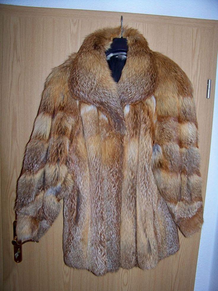 Pelzjacke Fuchs Fox Fur pelliccia di volpe