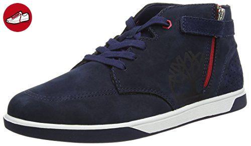 Timberland Unisex-Kinder Groveton Chukka with Sneaker, Blau-Bleu (Black Iris), 38 EU - Timberland schuhe (*Partner-Link)