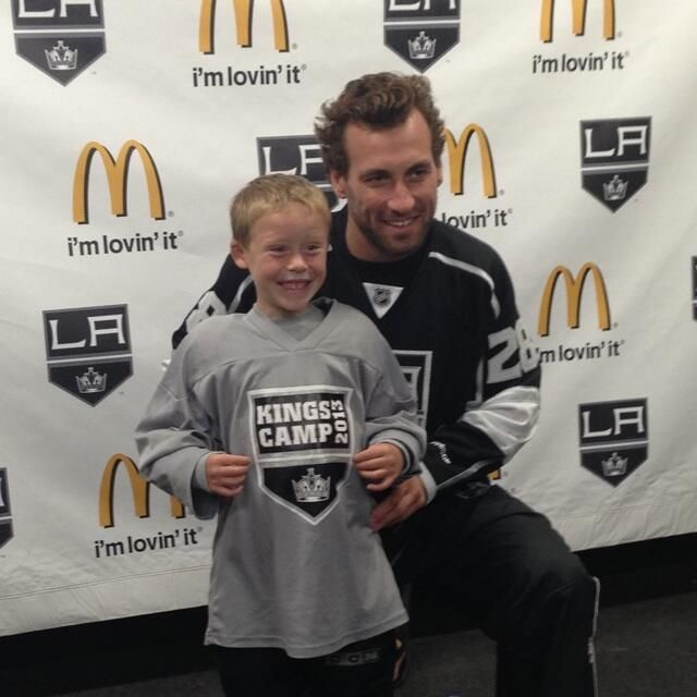 Jarret Stoll at LAKings Camp!