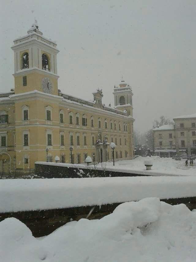 Snow in Colorno