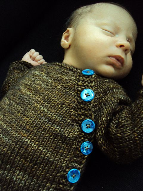 newborn baby sweater madeline tosh dk side buttons free