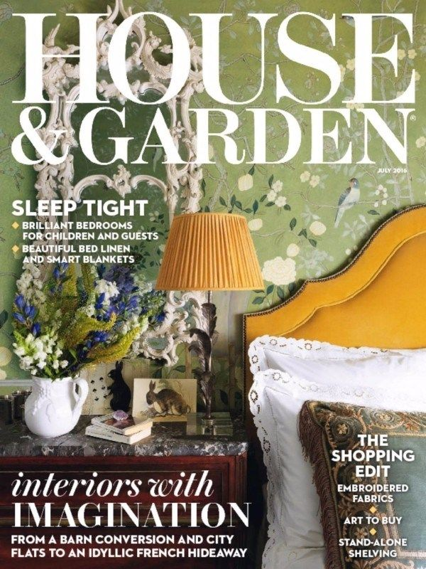 House and Garden Uk July 2016 Issue- Interiors with Imagination  #HouseandGardenUK #InteriorProducts #KidsBedroom #Beddings #ebuildin