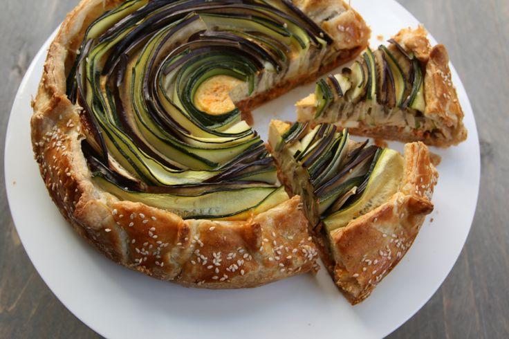 vega groente taart