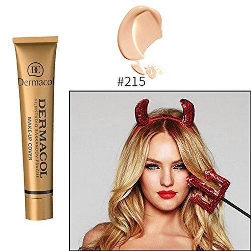 Hot 12 colors 100% Original Dermacol base primer corrector concealer cream makeup base tatoo consealer face foundation contour palette 30g (#215)