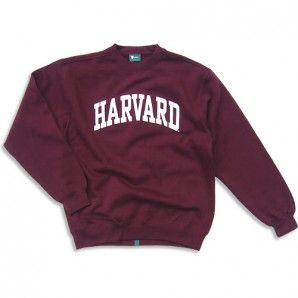 Harvard Sweatshirt - Classic (Crimson)- I want this sweatshirt so freaking bad