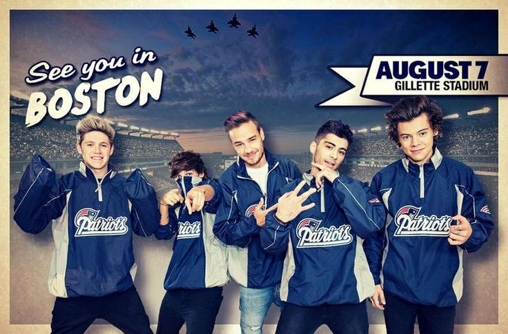 Day 6: Fav pic of the boys. They are wearing Patriots wind breakers and I CANNOT wait for August 8th!