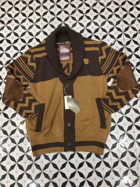 Image of Born fly cardigan brown