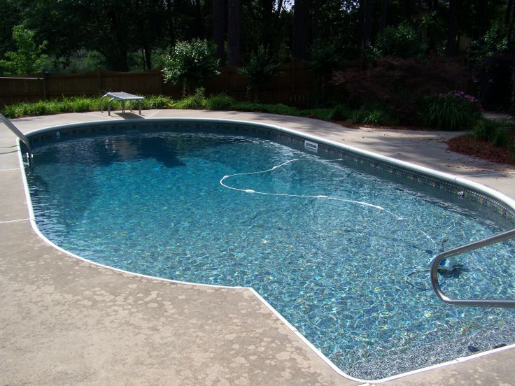 33 best images about pool liner on pinterest vinyls blue granite and monaco - Witte pool liner ...