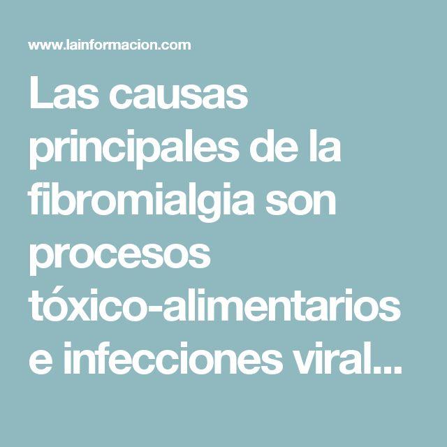 Las causas principales de la fibromialgia son procesos tóxico-alimentarios e infecciones virales crónicas Noticias, última hora, vídeos y fotos de Salud - Enfermedades en lainformacion.com