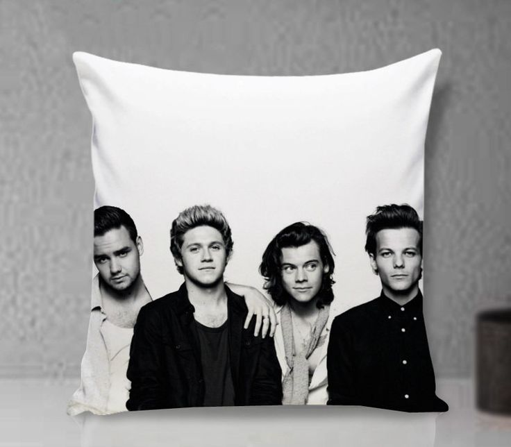 Pillow Cover, One Dierction 2015 Pillow - Custom Pillow cover - Pillowcases by clingartshop on Etsy