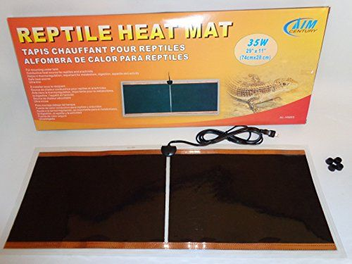 This heat mat is intended to provide a warm bottom area in your reptile's habitat for them to use when they need to digest their food and require warmth for any other reason. You should provide 30 to ...