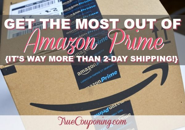 There's so much more to an Amazon Prime membership than the 2-Day Free Shipping!