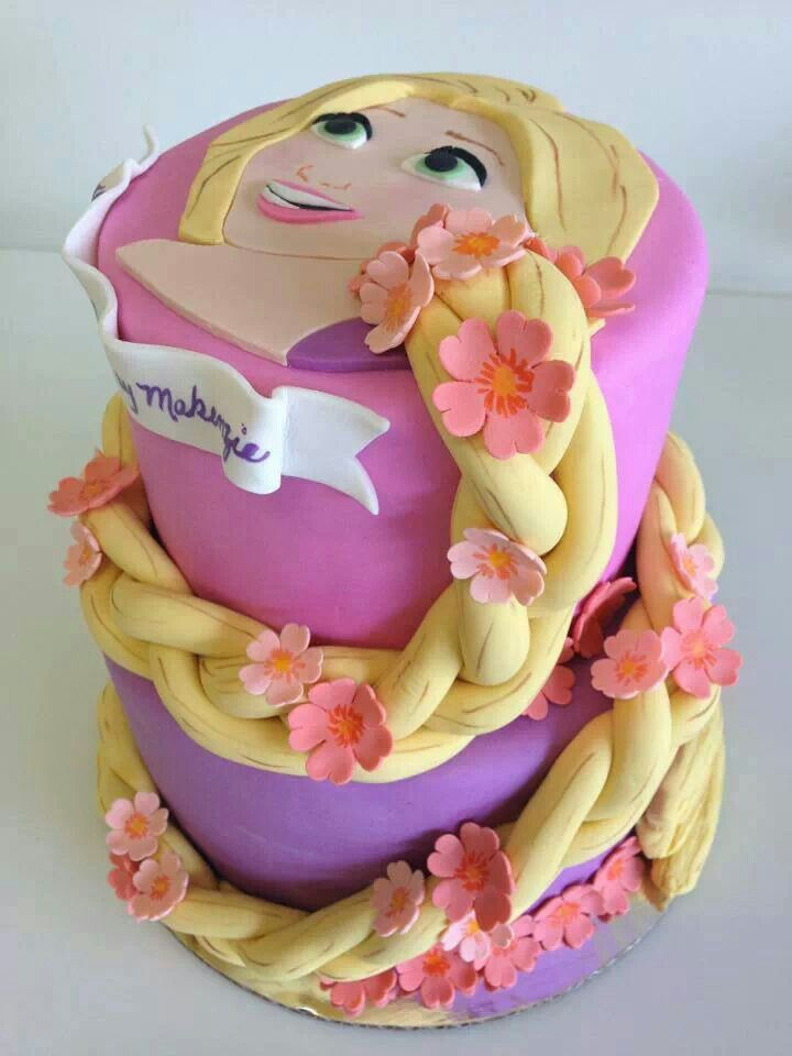 How To Make A Tangled Themed Cake
