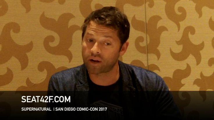 Misha Collins SUPERNATURAL Interview Comic Con HD