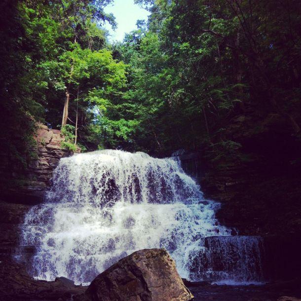 Lower Decew Falls, Ontario #DiscoverOntario