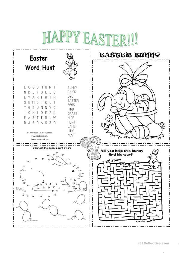 Easter Easter worksheets, Easter quiz, Easter