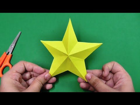 How to make simple & easy paper star   DIY Paper Craft Ideas, Videos & Tutorials. - YouTube