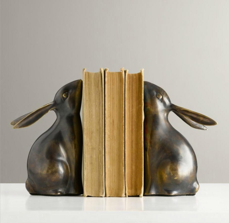Bunny BookendsI would love this as Giraffes - right Mikayla!