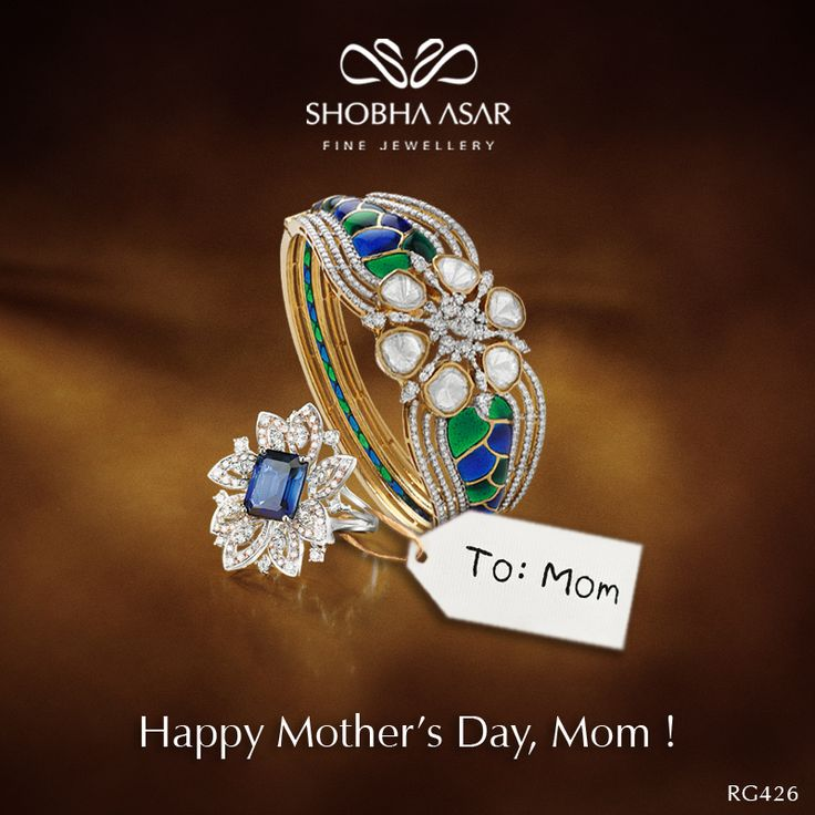 This #MothersDay surprise her with #ShobhaAsar #FineJewellery