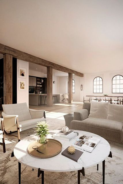 Sweet Seating - Justin Timberlake And Jessica Biel's New $28 Million Tribeca Penthouse - Photos