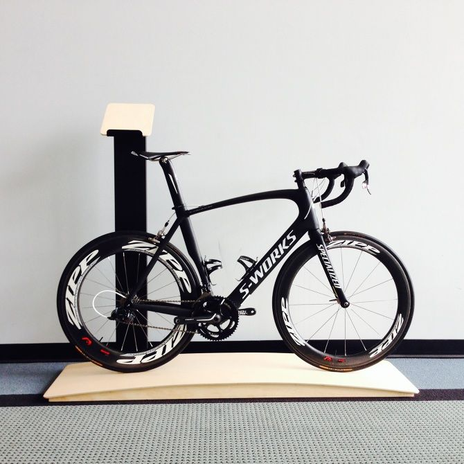 Specialized road bike stand - LarryParkerDesign