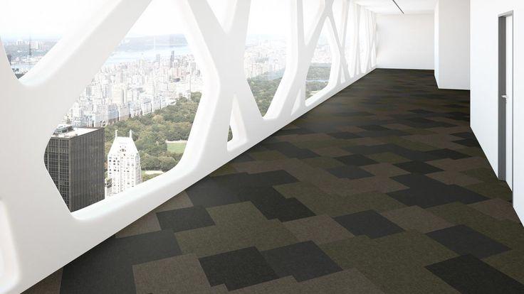 Textilplatta Fletco Sebastian Wrong för unik golvdesign