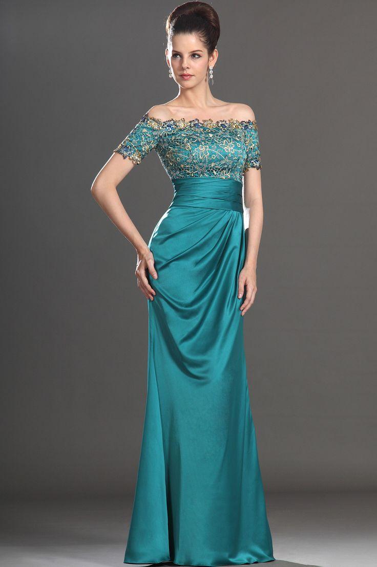 eDressit Elegante Vestido de manga corta Brillante para la madre de la novia (26132305)