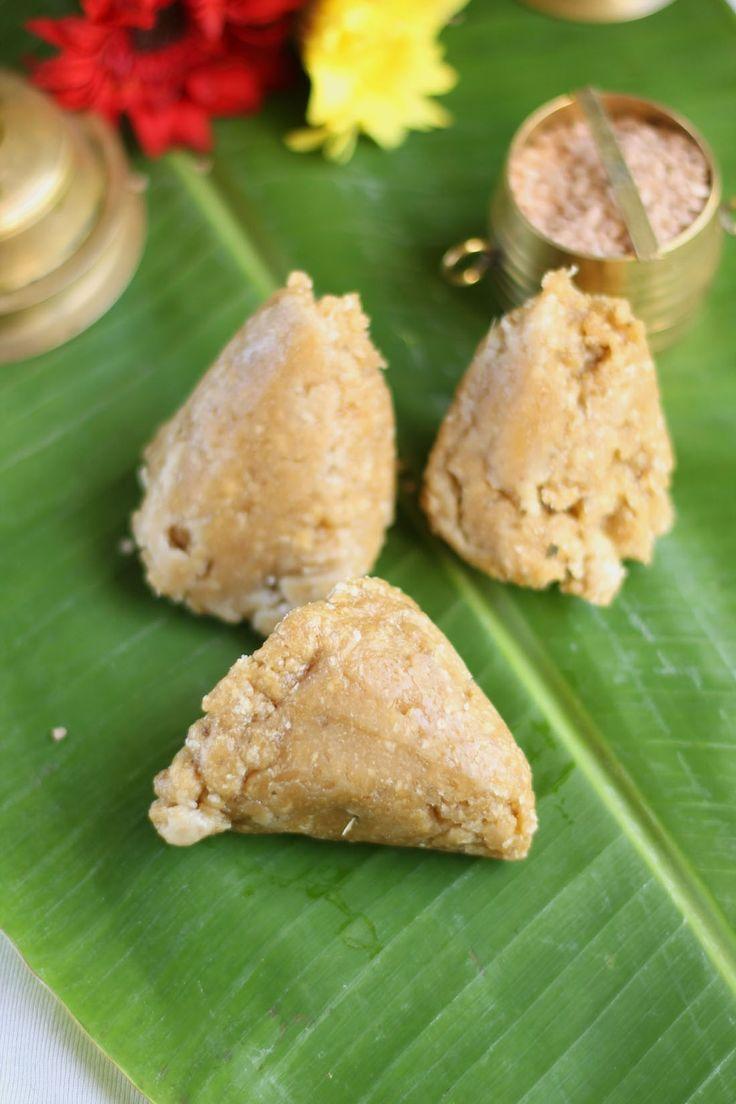 Traditional Kerala snack.Steamed banana and wheat flour or rice flour dumplings