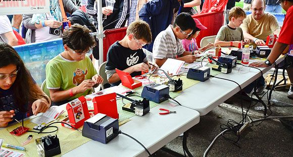 Become A Part of SparkFun 2013 National Education Tour | GeekMom | Wired.com    Oh, to have limitless funds...