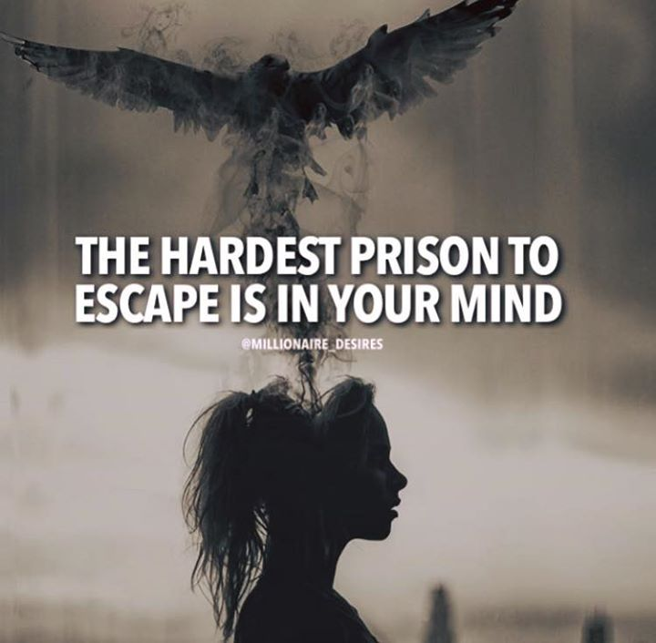 The hardest prison to escape..