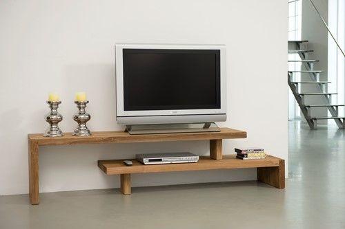 2 Tv Meubel.Tv Meubel 2 Planken Verlengbaar 45x160x40 Cm 8 Shelves In 2019