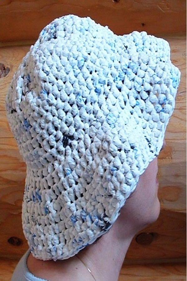 40 Diy Plastic Bag Recycling Projects Plarn Crochet Crochet Hats Free Pattern Ladies Crochet Bag Pattern