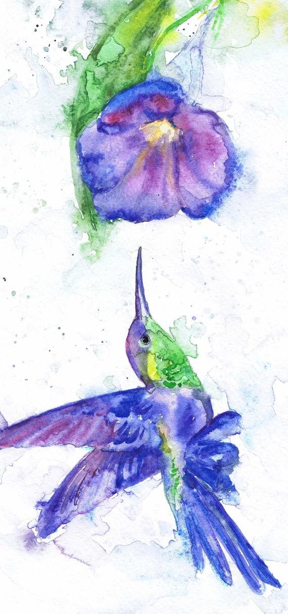Hummingbird And Flower Art Watercolor Birds, Butterfly Humming bird Painting, Art Prints, Humming bird Picture Butterfly Wall art Gift   high quality fine art print of my original watercolor painting. It is the work of a watercolor series Portraits of the Heart   Size paper: 14,8 × 21cm,5 4/5 × 8 1/4, A5 (with white borders) - 9.00 $   21 cm x 29,7 cm, 8 1/4 x 11.5/8, A4.(with white borders) - 20.30 $  29,7cm × 42cm, 11,69 × 16,54, A3(with white borders) - 36.00 $  Other d...