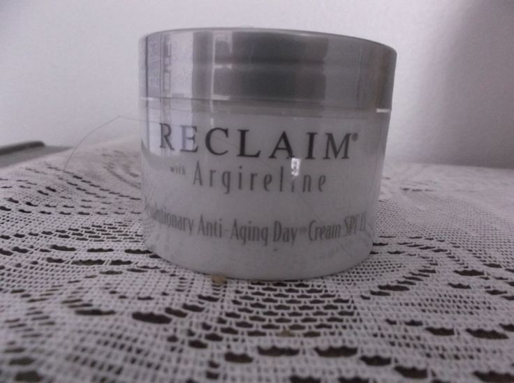 Reclaim  by Principal Secret w/Argireline Revolutionary Anti-Aging Cream SPF 15 #PrincipalSecret Protect daily with SPF