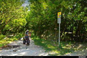 Traseu cu bicicleta MTB XC Szentendre - Budakalasz - Budapesta : EuroVelo 6 - 6 . MTB Ride EuroVelo 6 - 6: Szentendre - Budakalasz - Budapest - Pest - Budapest, Ungaria
