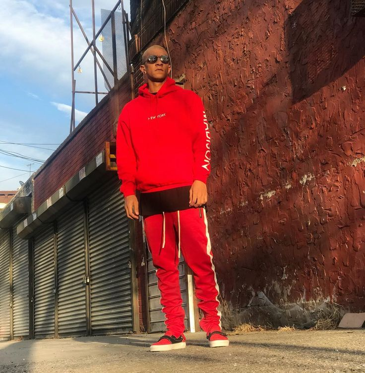 This Is Bloody Red  Cop the whole fit @madison_new_york  #FOG #FluxDeMaison #StreetFashion  #Fall2017 #pacsun #blog #mensfashion #model #NYC #dope #streetwear #OcherCruz #FearOfGod #photooftheday #like4like  #trend #dopestyle #blogger #photoshoot #NYClifestyle #supreme #stevenalan #DefendParis #collab #vans