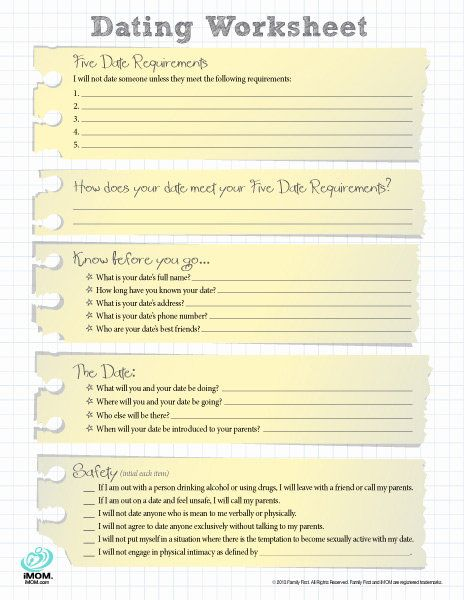 dating tips for introverts free printable worksheets free