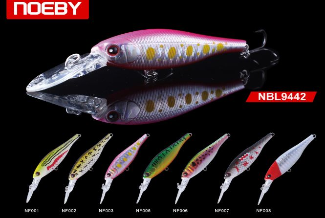 For best fishing output use NOEBY suspending minnow lures.These artificial lures are the perfect replica of originals, they have same smell like live baits to attract fishes.Order your lures now. http://bit.ly/2pF9GSj