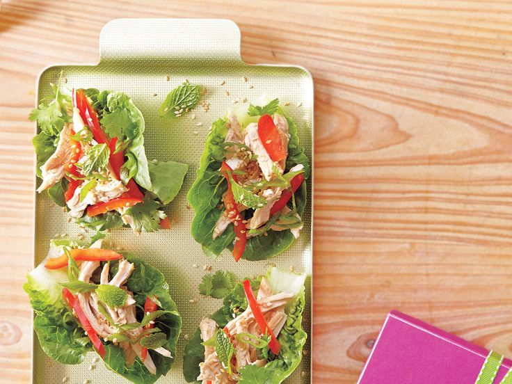Learn how to make Asian Chicken Salad Lettuce Wraps . MyRecipes has 70,000  tested recipes and videos to help you be a better cook