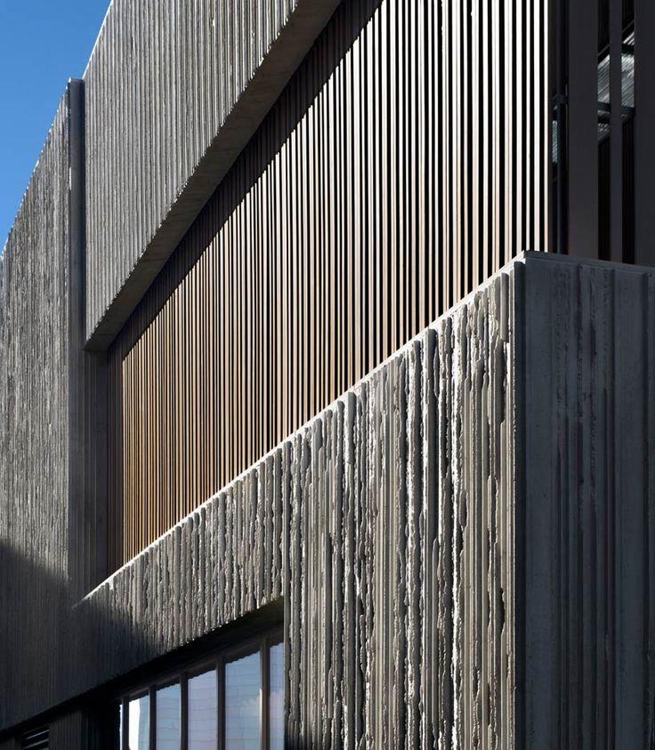 best 25 concrete facade ideas on pinterest facade. Black Bedroom Furniture Sets. Home Design Ideas