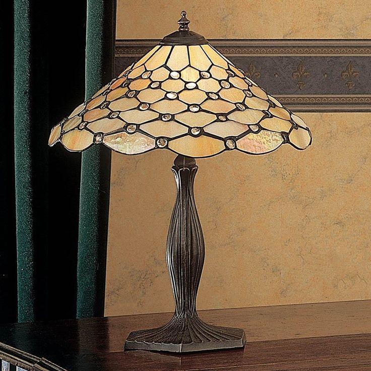 Lampada da Tavolo o da Scrivania Tiffany Gialla