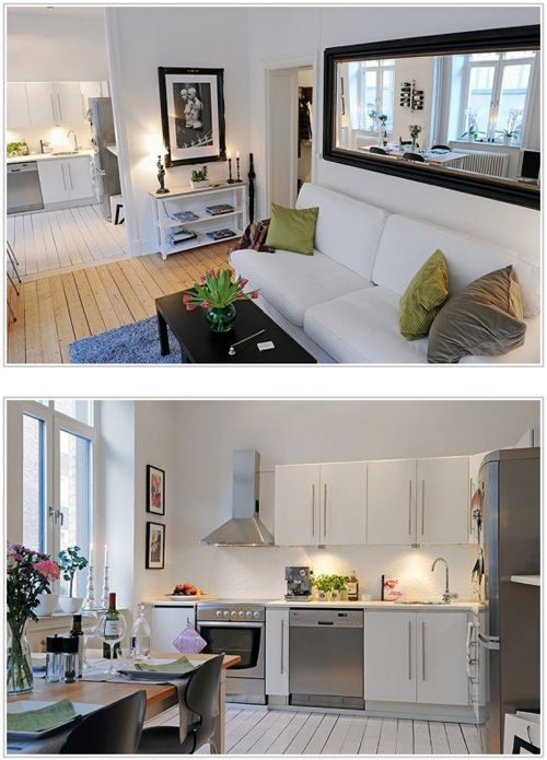 Swedish style interiors for a HDB home in Singapore