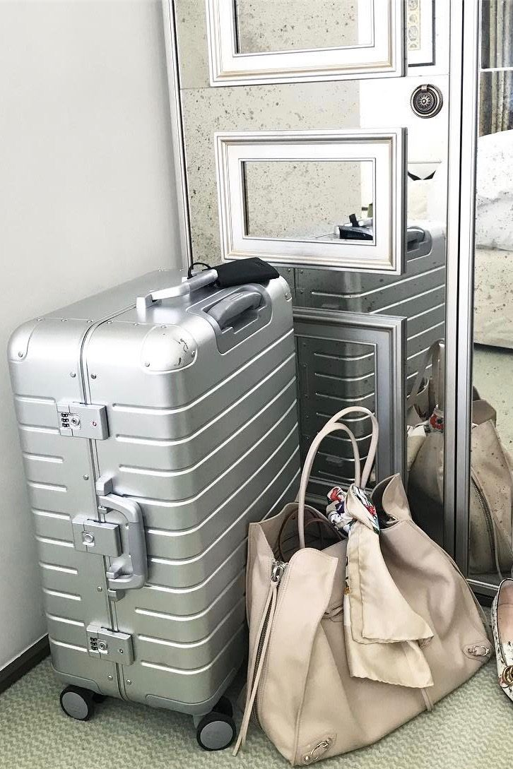 cba1c10a59 The Aluminum Luggage has that picturesque aesthetic. 📷  lucylean ...