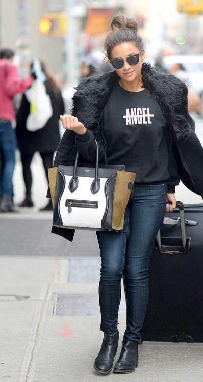 Celebritygossipbyrangi: Shay Mitchell leaves her SoHo hotel in...