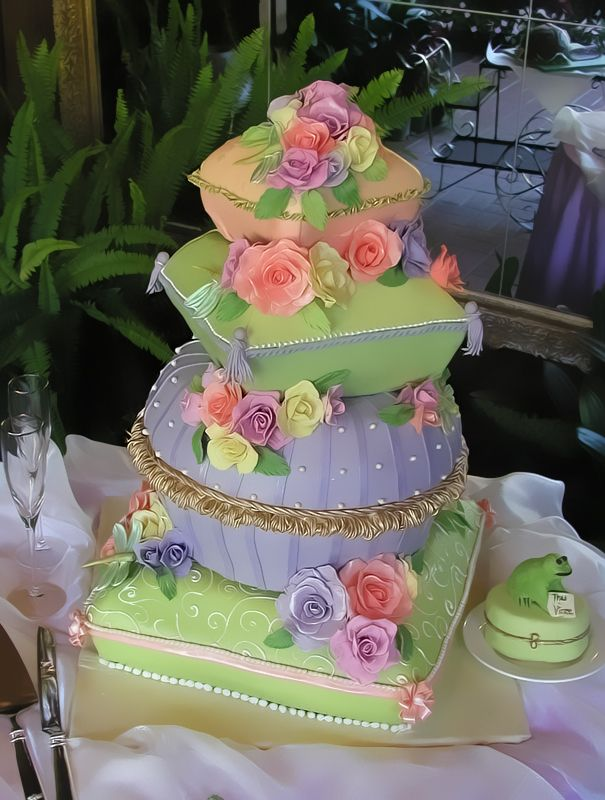 Elegant Cheese Cakes - really cute!