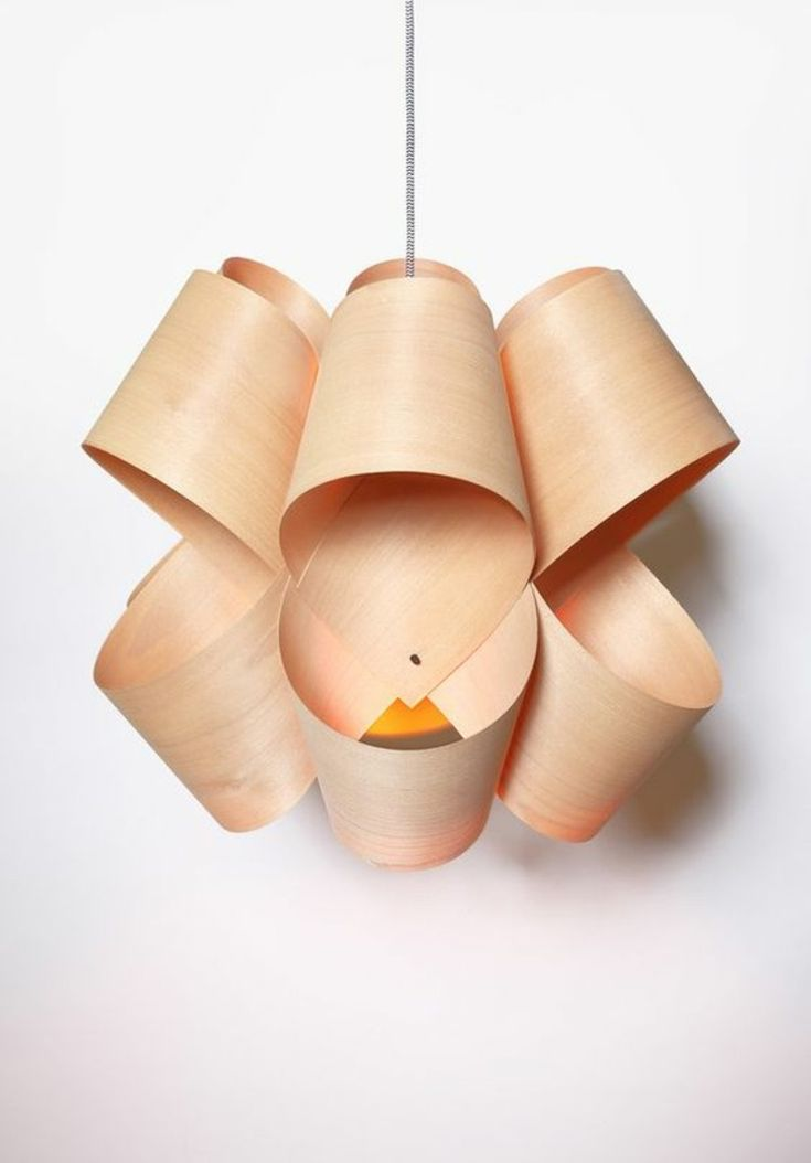 furnier möbel design furnier pendelleuchte